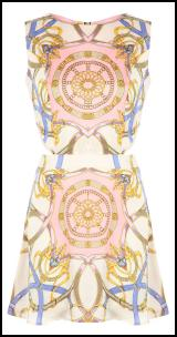 Missguided Scarf Print Dress.