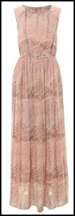 Animal Print Soft Focus Maxi Dress - A|wear.