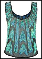 Sequin Top Topshop.