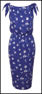 Apricot SS12 - Rich Blue Floral Dress.