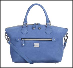 Gorgeous Modalu London Artemis Sky Blue Grab Bag.