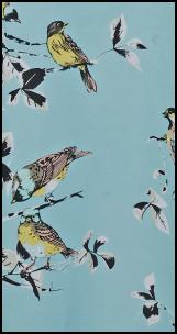 Dorothy Perkins SS12 Turquoise Bird Print.