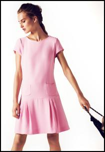 Marks & Spencer Park Avenue Pink Mini Dress.