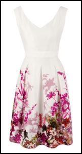 Savida Tropical Border Print Dress. Dunnes SS12.