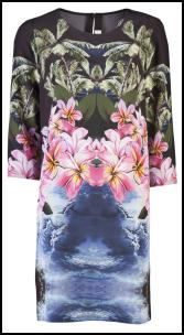 Stella McCartney Tropicana Anemone Print Tunic Dress.