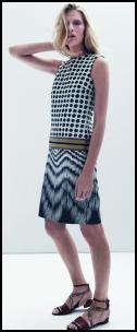 Hobbs Tribal Spot Shift Dress.