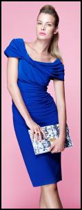 House Of Fraser SS12 Cobalt Blue Dress.