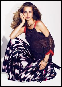 M&S Culture Clash Per Una Speziale Top & Print Wide Trousers.