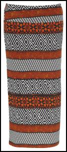 Tribal Print Ziggy Maxi Skirt.