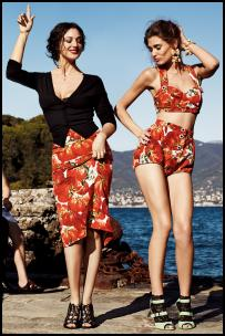 Dolce & Gabbana Fruity Bra Tops & Shorts.