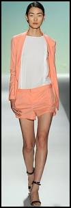 Designer Peach Shorts,