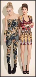 Miss Selfridge Tribal Print Fashion.