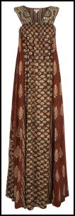 Monsoon Gazella Print Maxi Dress.