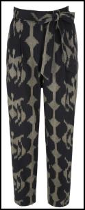 Monsoon Ikat Print Trouser.