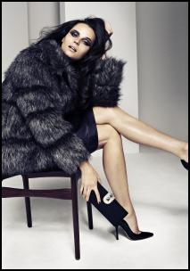BHS A/W12/13 Fake Fur Coat.