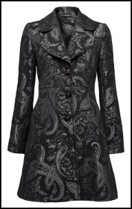 Paisley Patterned Coat - Tu at Sainsburys.