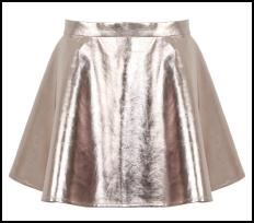 Silver Skirt From Missguided AW12/13.