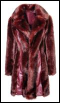 Miss Selfridge Fake Fur Coat.