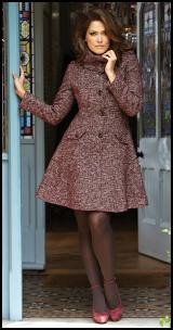 Simply Be Tweed Coat.