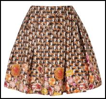 Tweed Skirt - Dorothy Perkins.