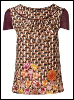 Tweed Top  - Dorothy Perkins