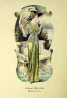 Fashion Plate Reprints Titanic Era - Pale Green Dress
