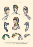 The Englishwoman's Domestic Magazine Fashions 1869 - Headwear