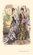 1878 BALL DRESS AND DINNER DRESS