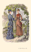 1880 OUTDOORS DRESS AND HUNTING COSTUME