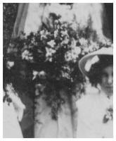 1910 Bride's bouquet