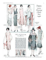Paris Wears Evening Frocks That Ripple 1925 - McCall's