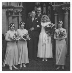Group Wedding Photograph 1931