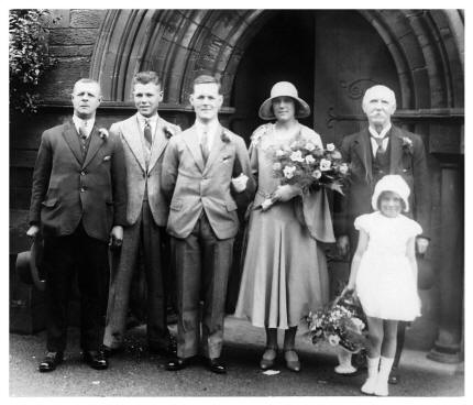 Irene's Wedding Photo 1931