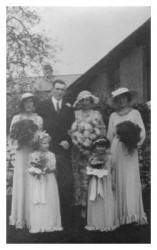 Group Wedding Photograph 1935