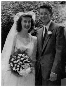 1946 Wedding of John and Esther Anderson
