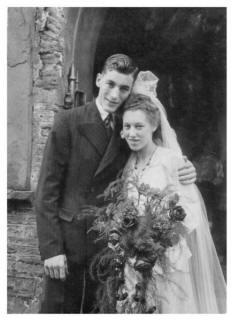 1947 Wedding of John and Violet Reed