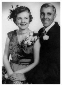 1953 Wedding of Helen and Norman Porter