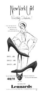 1950s Shoe advert.