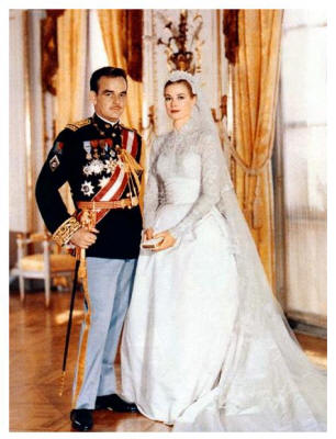 1956 Wedding of Grace Kelly to Princess Rainier of Monaco