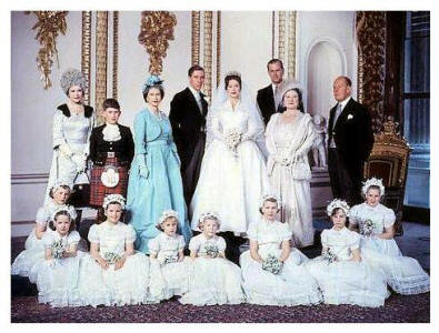 Wedding of H.R.H. Princess Margaret with Anthony Armstrong Jones 1960.