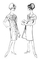 1962 Empire line dresses.