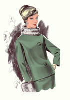 Green Suit 1965 Fashion History Drawings of the 1960s