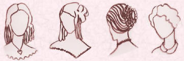 Pictures of Victorian hairstyles -  Fashion history.