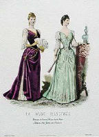 Late Victorian Fashion Plate