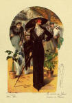 Fashion Plate Showing Edwardian Picture Hat