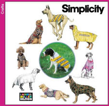 Simplicity Pattern 9520 Dog and Greyhound Coat Patterns