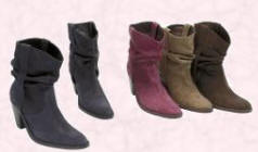 Benetton slouch ankle fashion boots