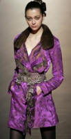Opulent Luxe Baroque Brocade - Silk jacquard jacket with mink collar from Christain Lacroix
