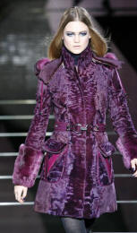 Versace coat - 2006 Fashion History