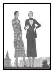 Daywear - April 1930 - Good Housekeeping Fashion Images 3